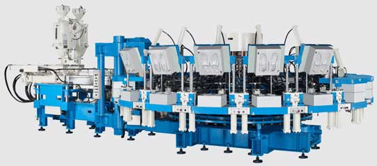PVC/TPR injection moulding machine